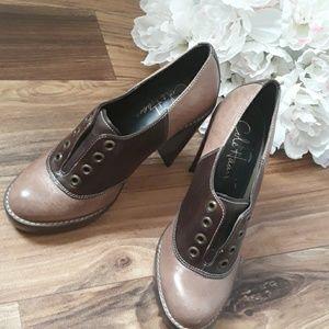 Cole Haan X Nike  Stephanie  Leather  Oxford heels